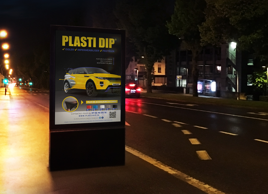 Affiche Plasti Dip