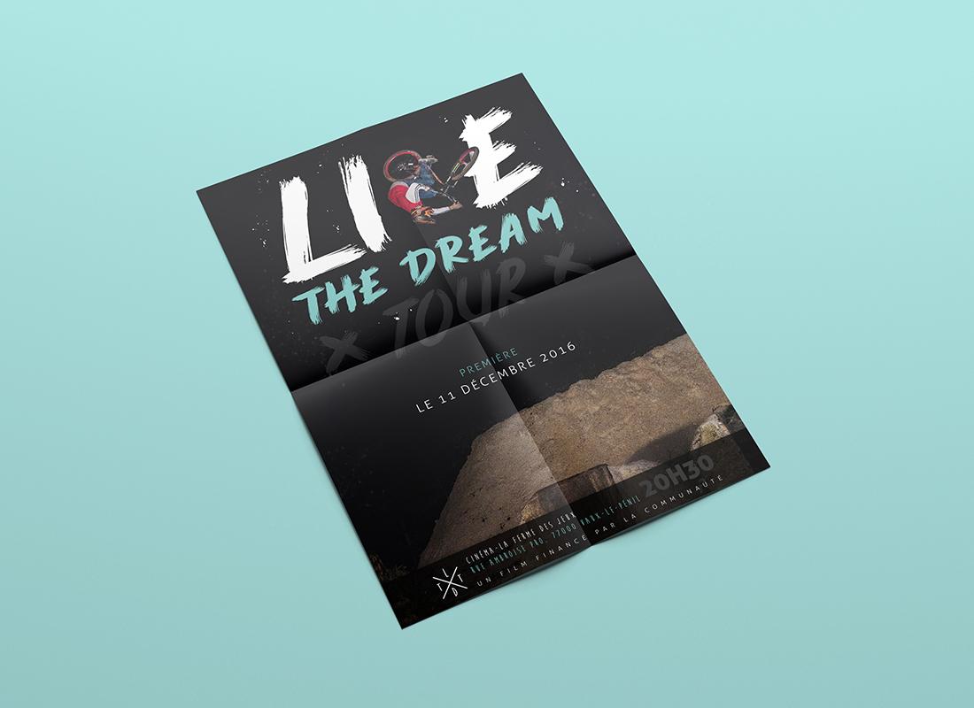 Affiche live the dream Tour
