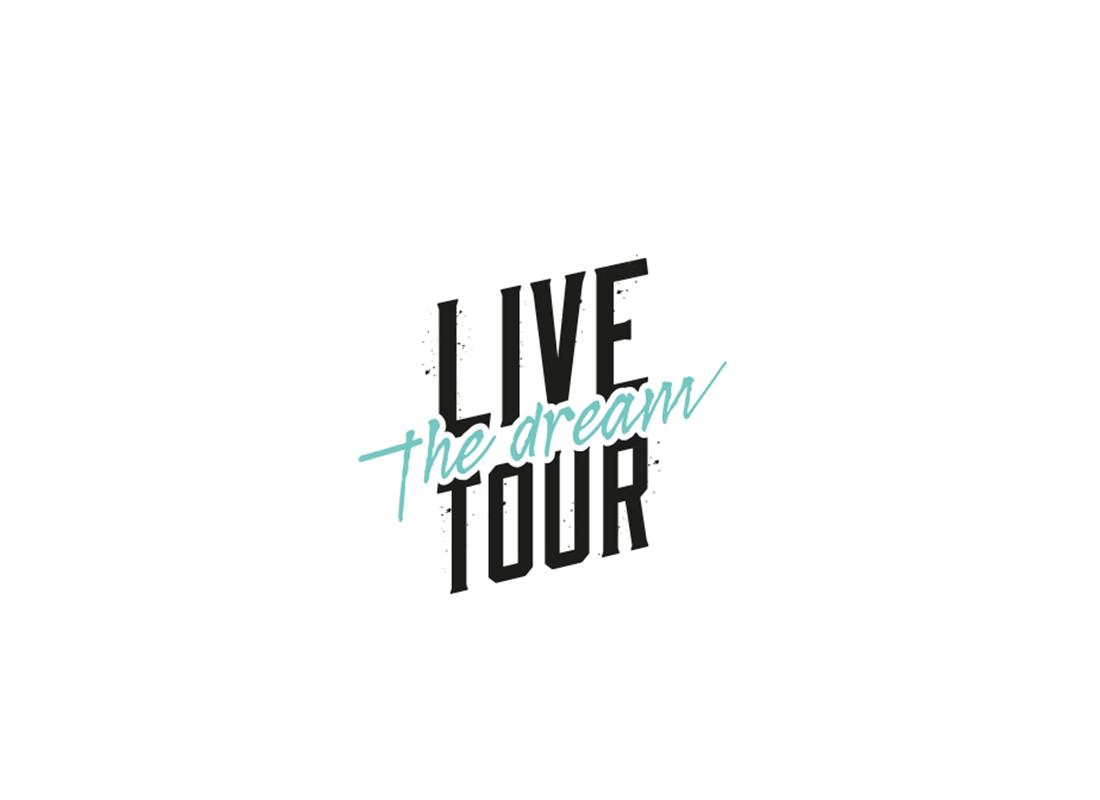 logo live the dream Tour2