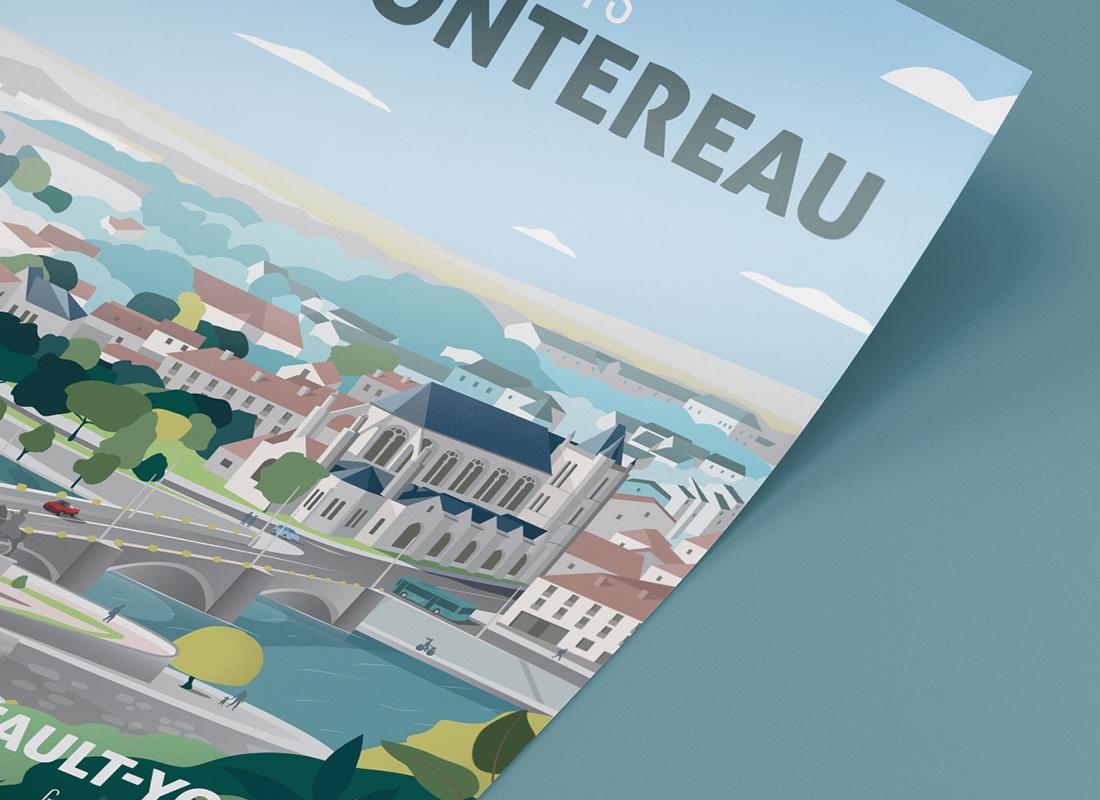 Affiche Montereau