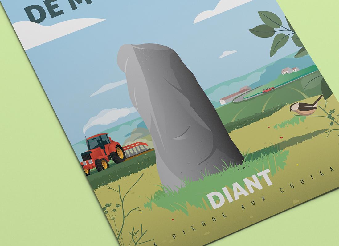 Affiche Diant